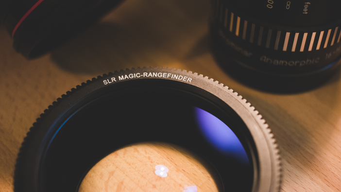 SLR Magic Rangefinder with Kowa 8Z Anamorphic
