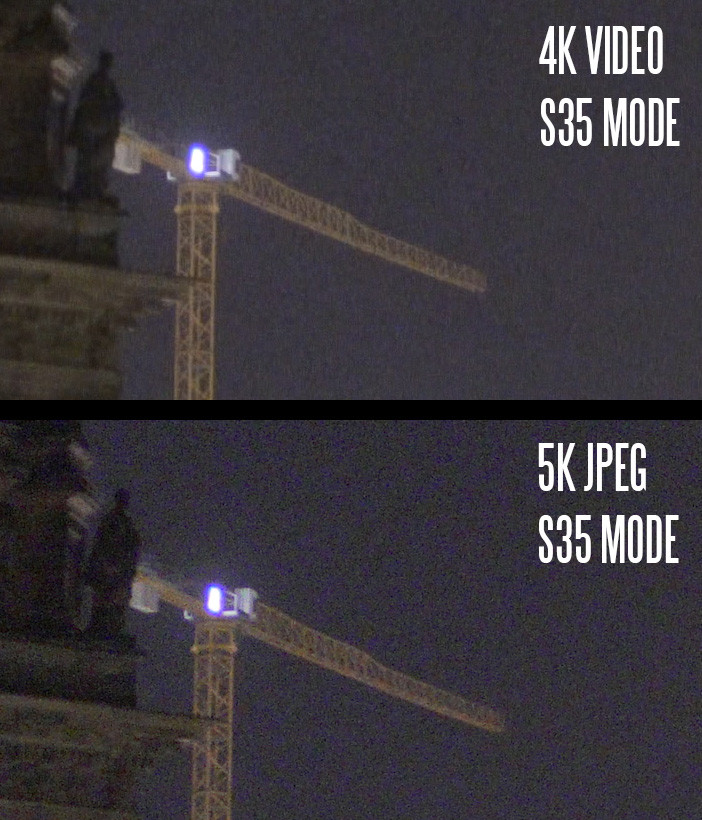 A7R II video vs JPEG