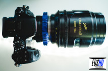 Panasonic GH4 with Cooke