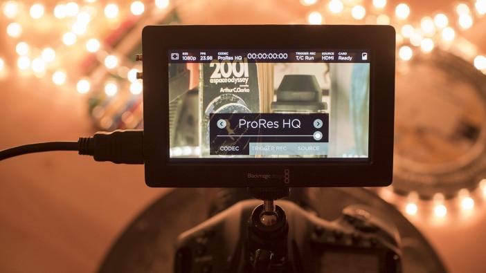Blackmagic Video Assist - Codec (ProRes)