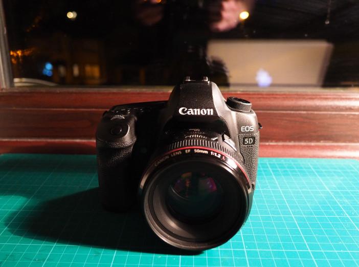 Canon 5D Mark II with Magic Lantern raw video