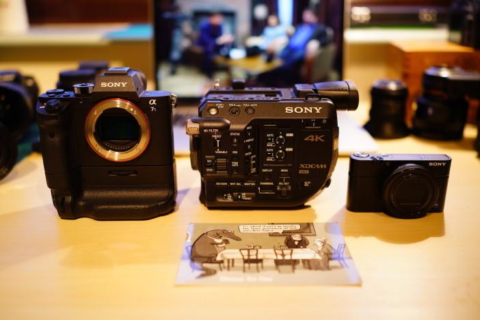 Sony FS5 size comparison