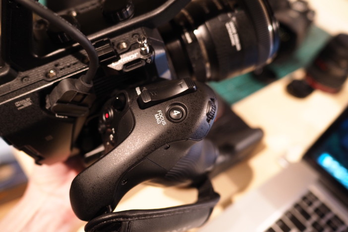 Sony FS5 hand grip