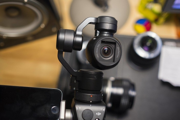 DJI OSMO with X3 gimbal