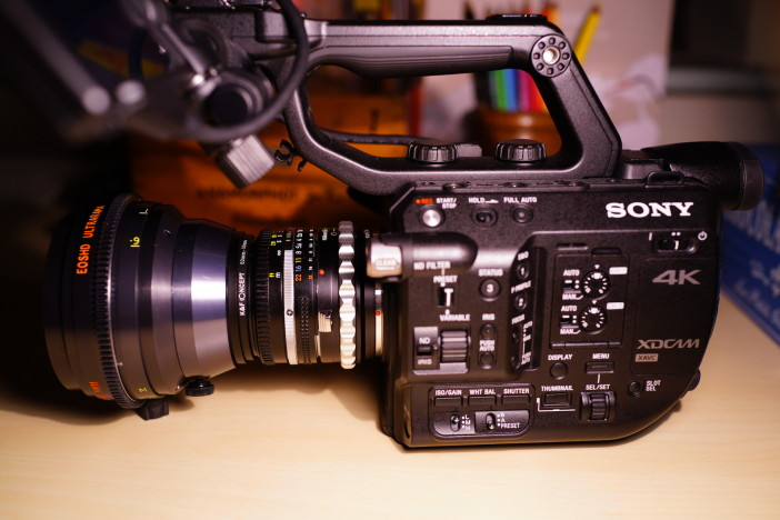 Sony FS5 with cine mod Iscorama