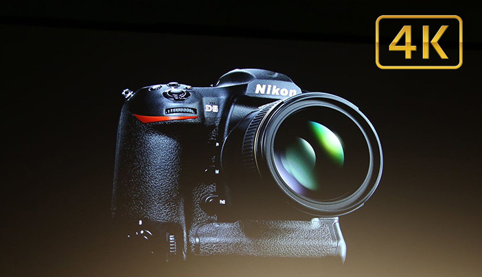 Nikon D5 with 4K video