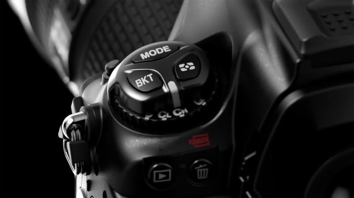 Nikon D5 buttons