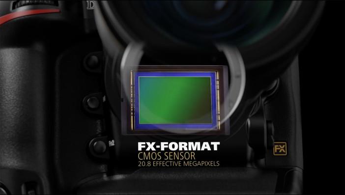 Nikon D5 FX sensor