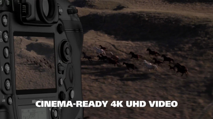 Nikon continue to make a lot of noise in their marketing about pro video