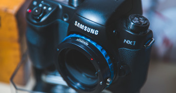 Samsung NX1 with Novoflex Sony A mount adapter