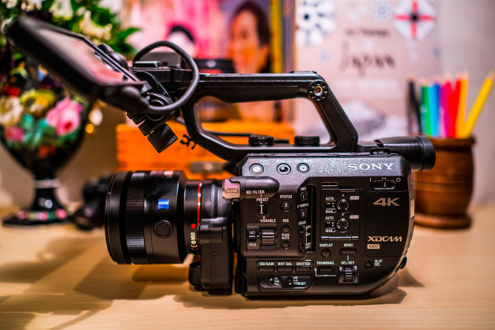 Sony FS5 with Zeiss 85mm F1.4 ZA