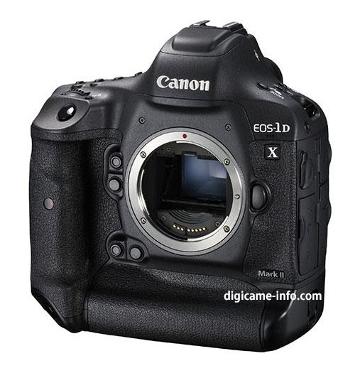 Canon 1D X Mark II - front