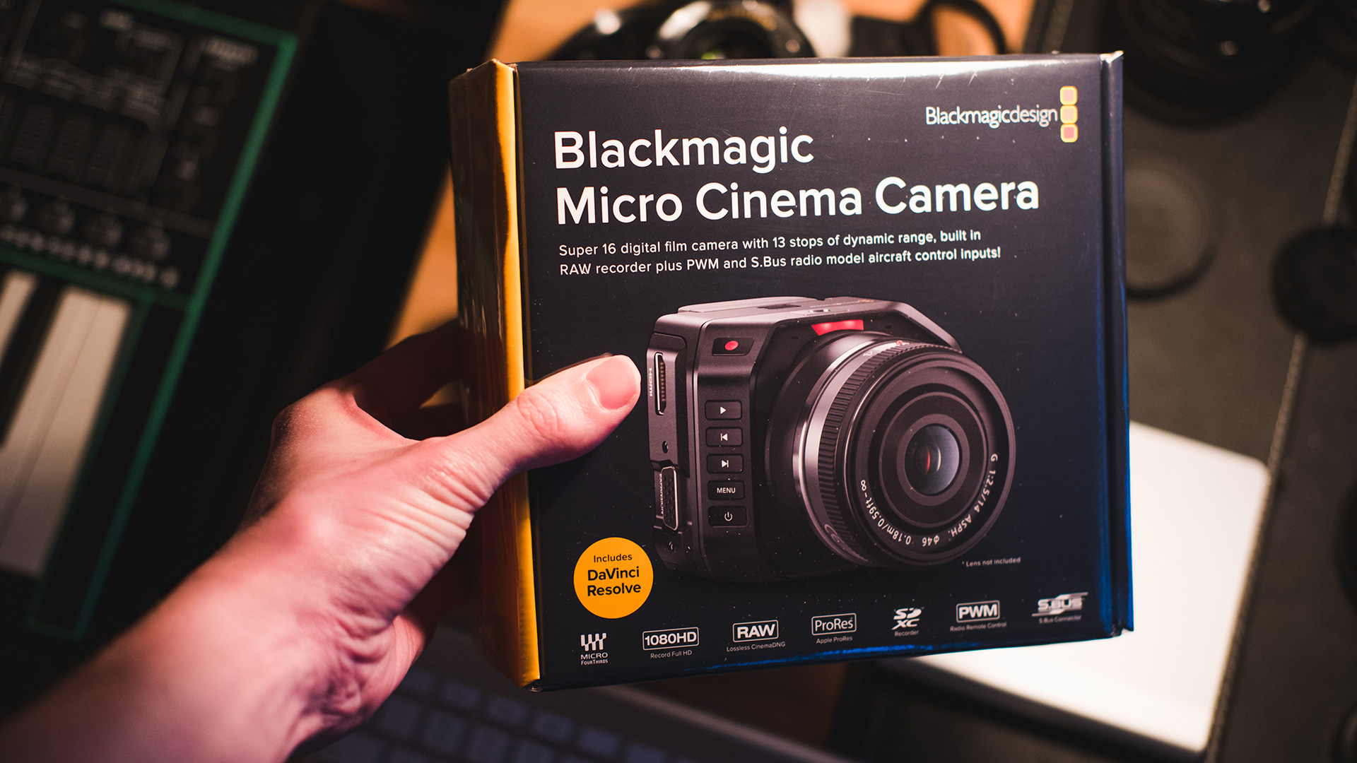 Blackmagic Micro Cinema Camera Unboxing And Early First Impressions Eoshd Com Filmmaking Gear And Camera Reviews