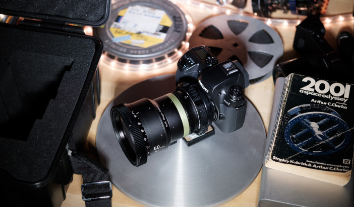 SLR Magic anamorphic prime - NX1