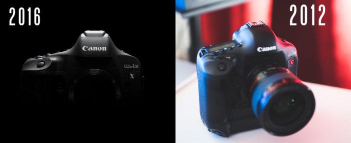 Canon 2016 vs 2012