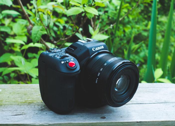 Canon XC10 - 4K video camera