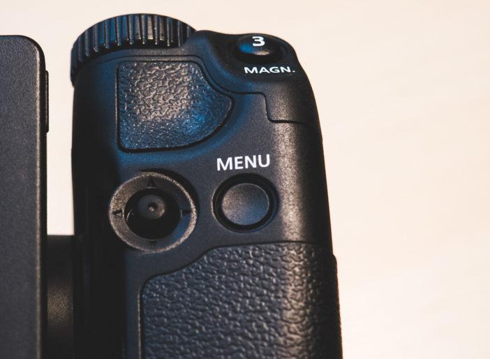 Canon XC10 - joystick