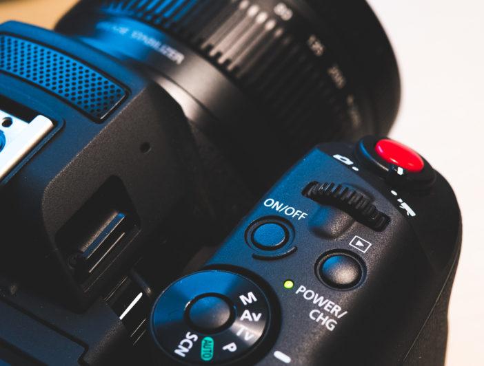 Canon XC10 - wheel