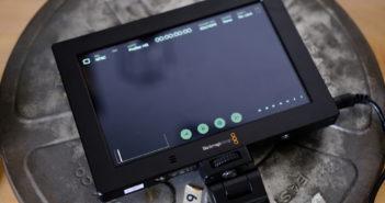 Blackmagic View Assist 4K user interface
