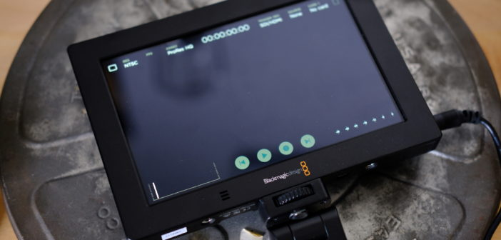 Blackmagic View Assist 4K user interface