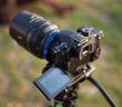 Panasonic GH4 with Cooke PL lens