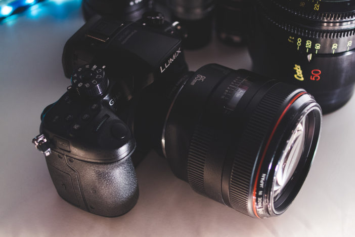 Panasonic GH4 with Canon 85mm F1.2L lens