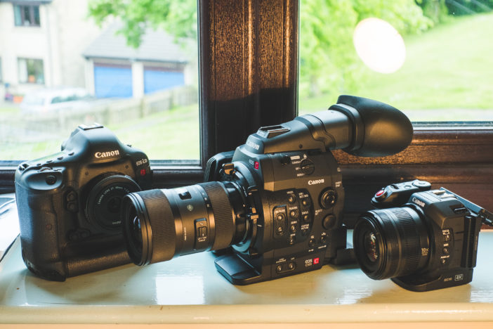 Canon Cinema EOS range - 1D C, C500 and XC10