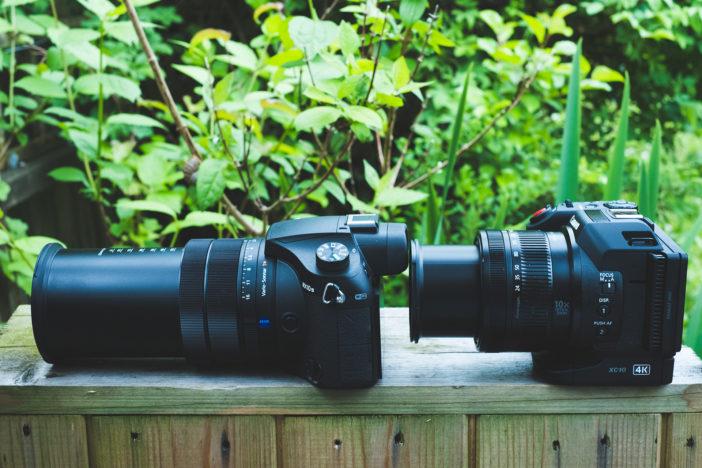 Sony RX10 III versus Canon Cinema EOS XC10