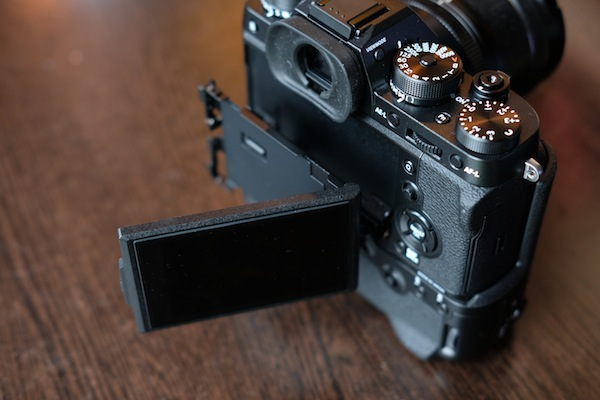 Fuji X-T2 articulated screen