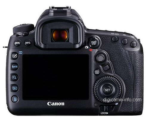 canon 5d mark iv screen rear controls