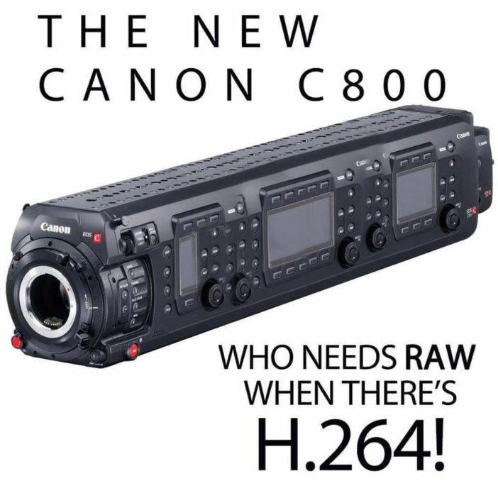Canon C700 parody