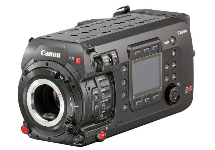 Canon C700 bare bones
