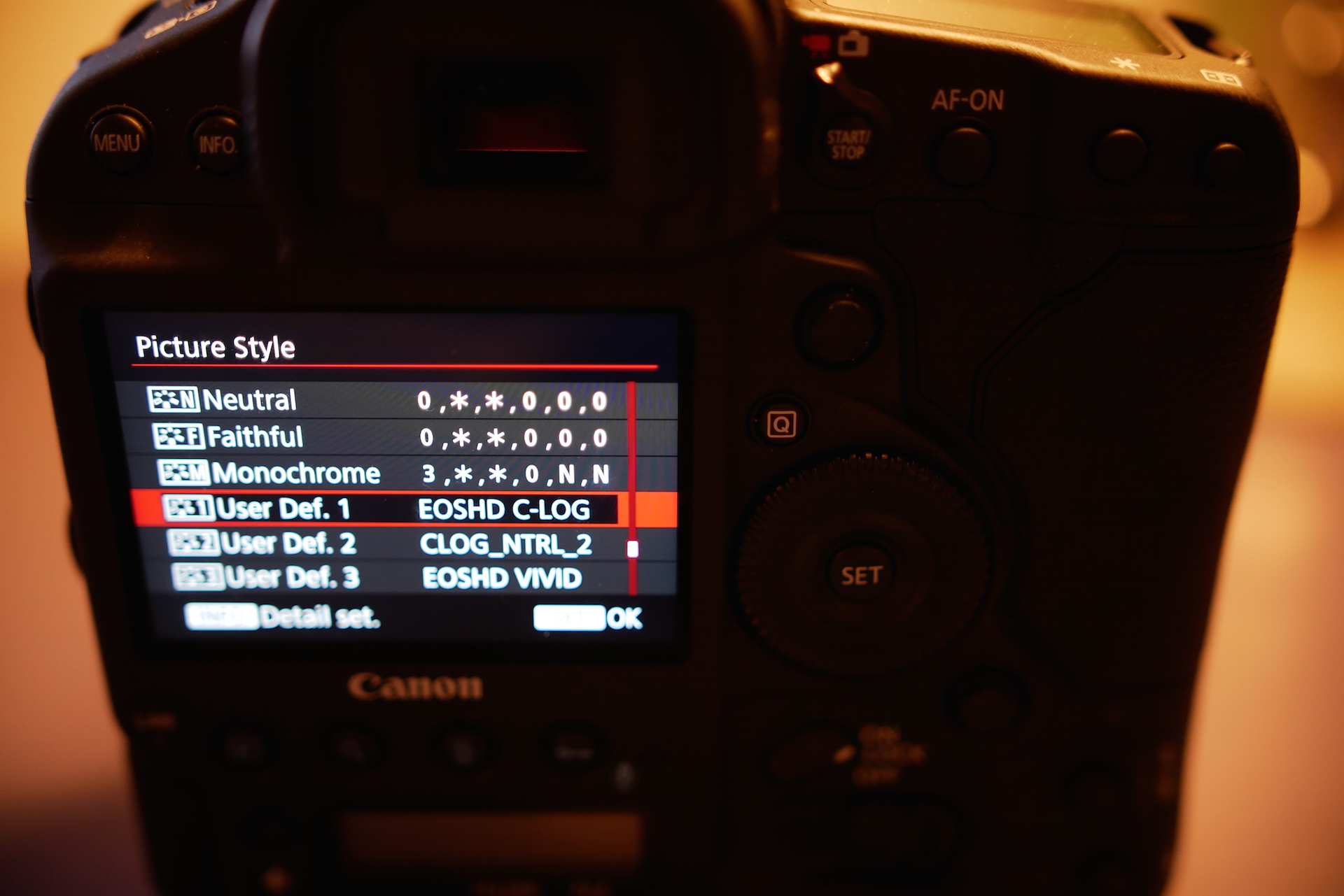Canon 1D X Mark II EOSHD C-LOG