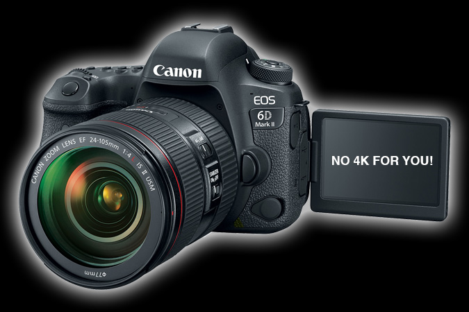 Canon 6d Mark Ii Codec Worse Than The Old 6d With Lower