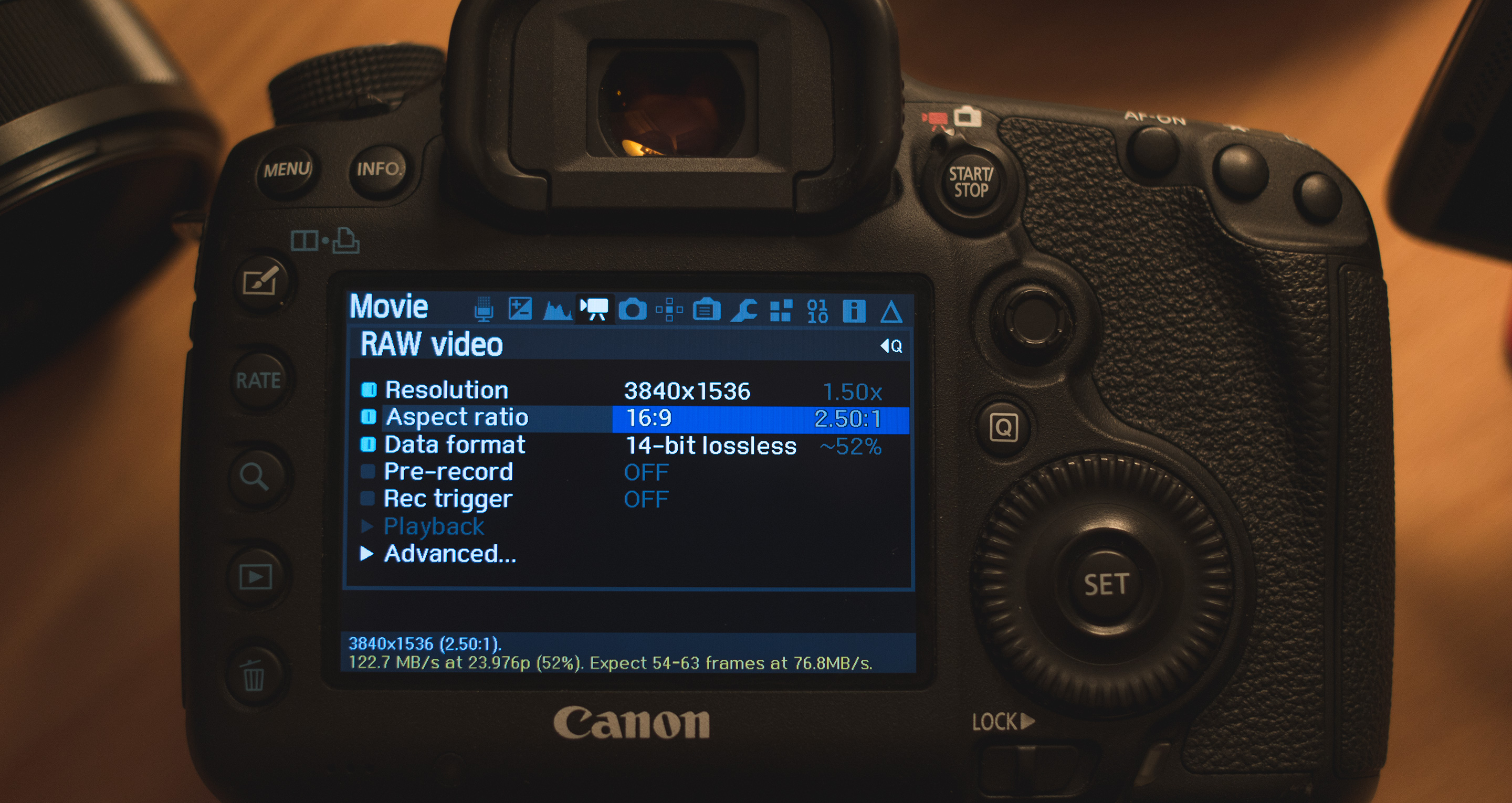 10-bit / 12-bit RAW on 5D Mark III, possible yes or no?