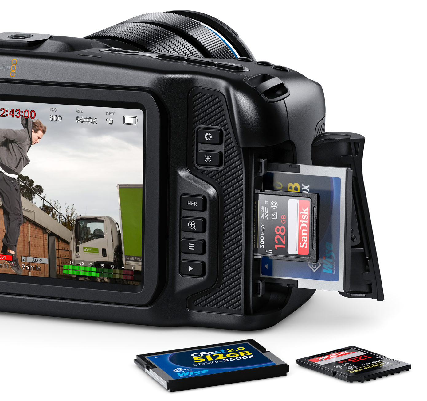 For $1295 the Blackmagic Pocket Cinema Camera 4K is completely nuts