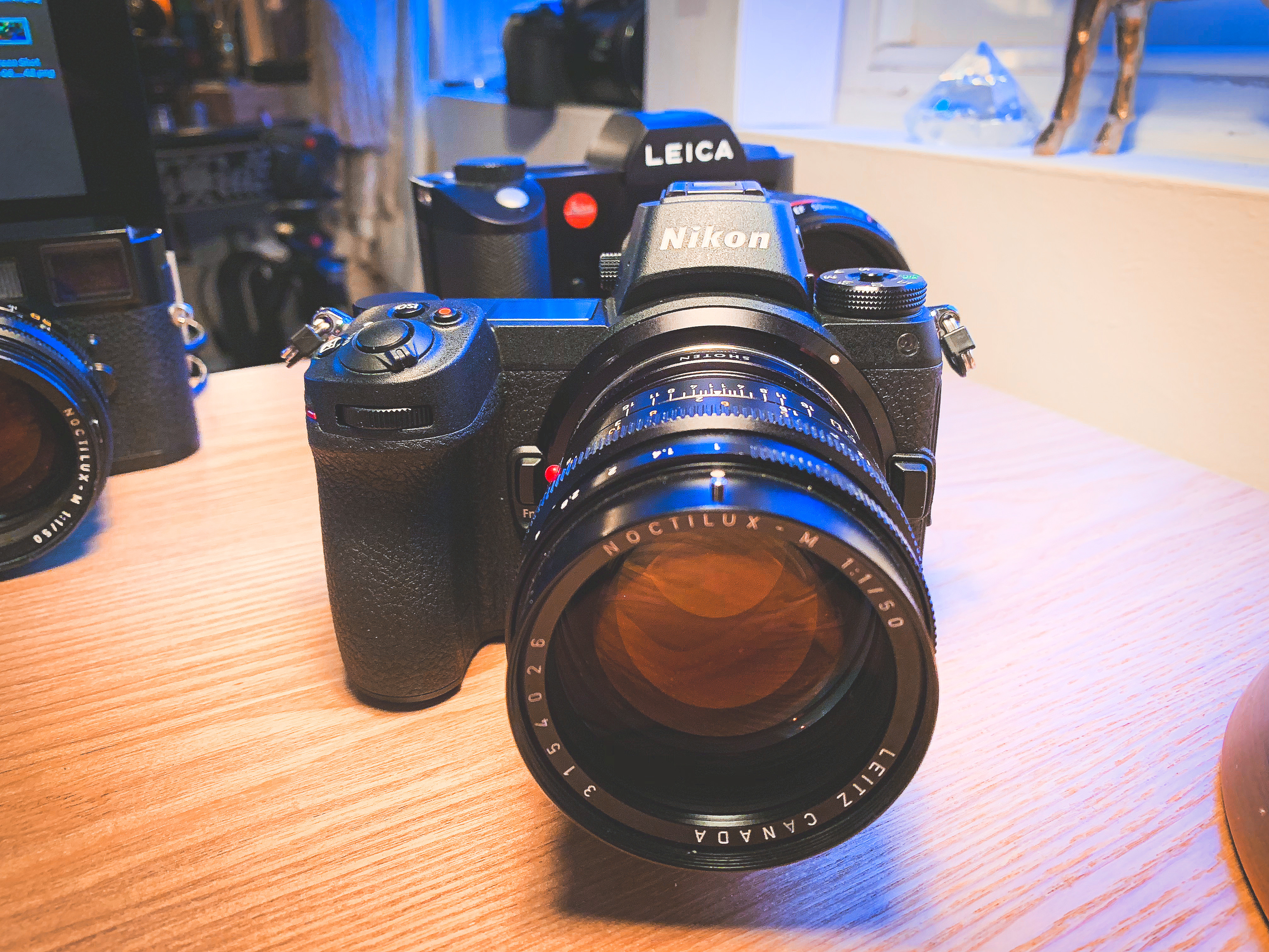 First ever shots from the Nikon Z7 at F1 0 with Leica