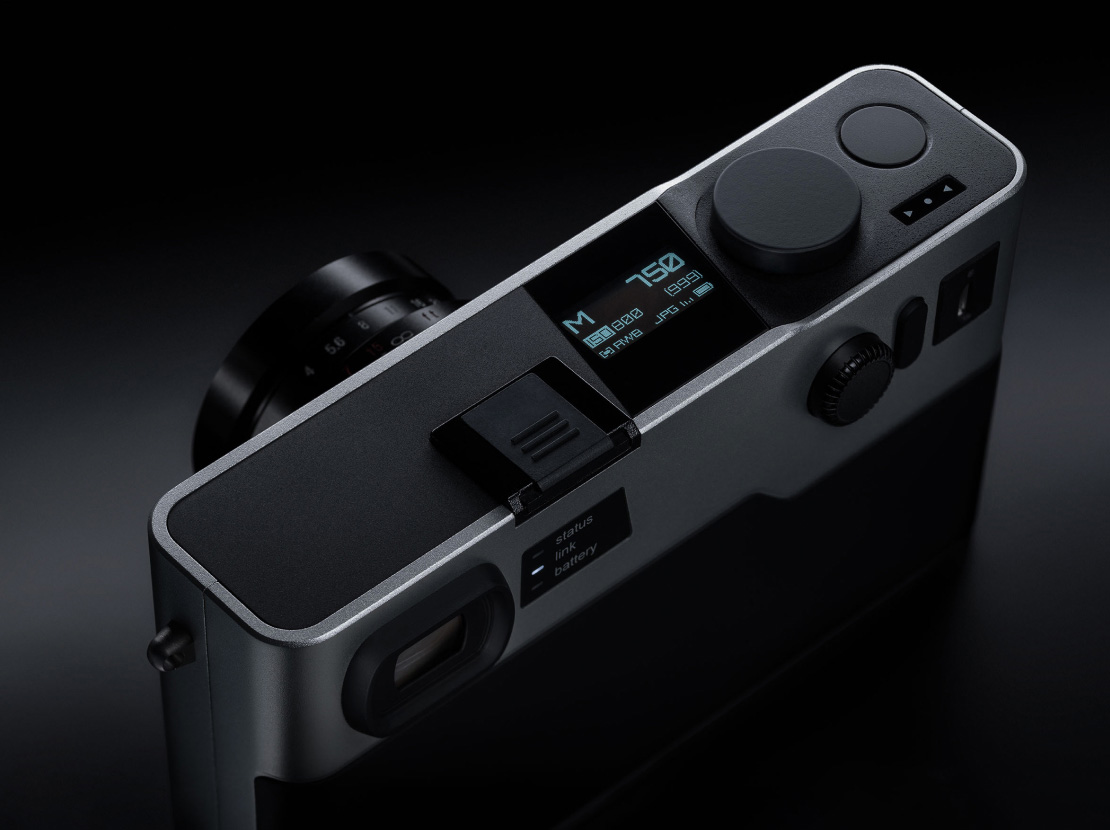 Global shutter M-mount camera announced with eye-opening smartphone