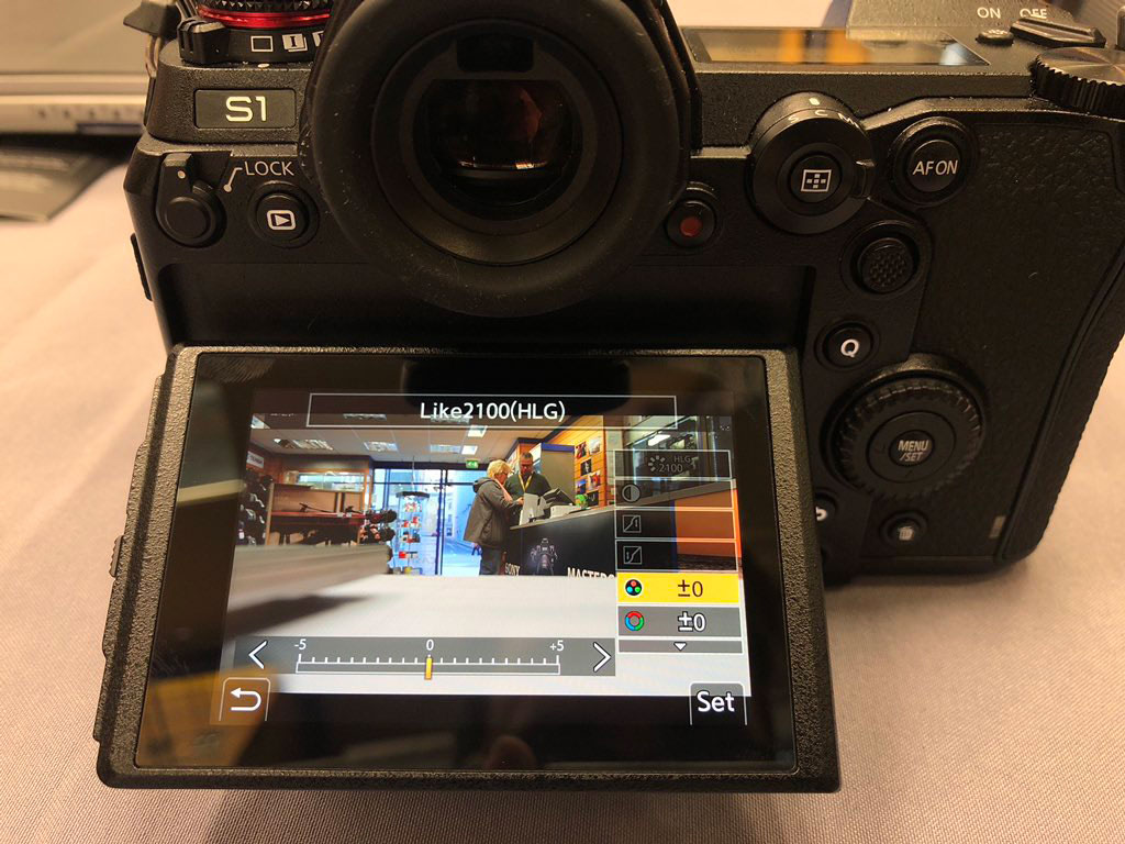Panasonic S1 4K 10bit video mode to be present at launch with Hybrid