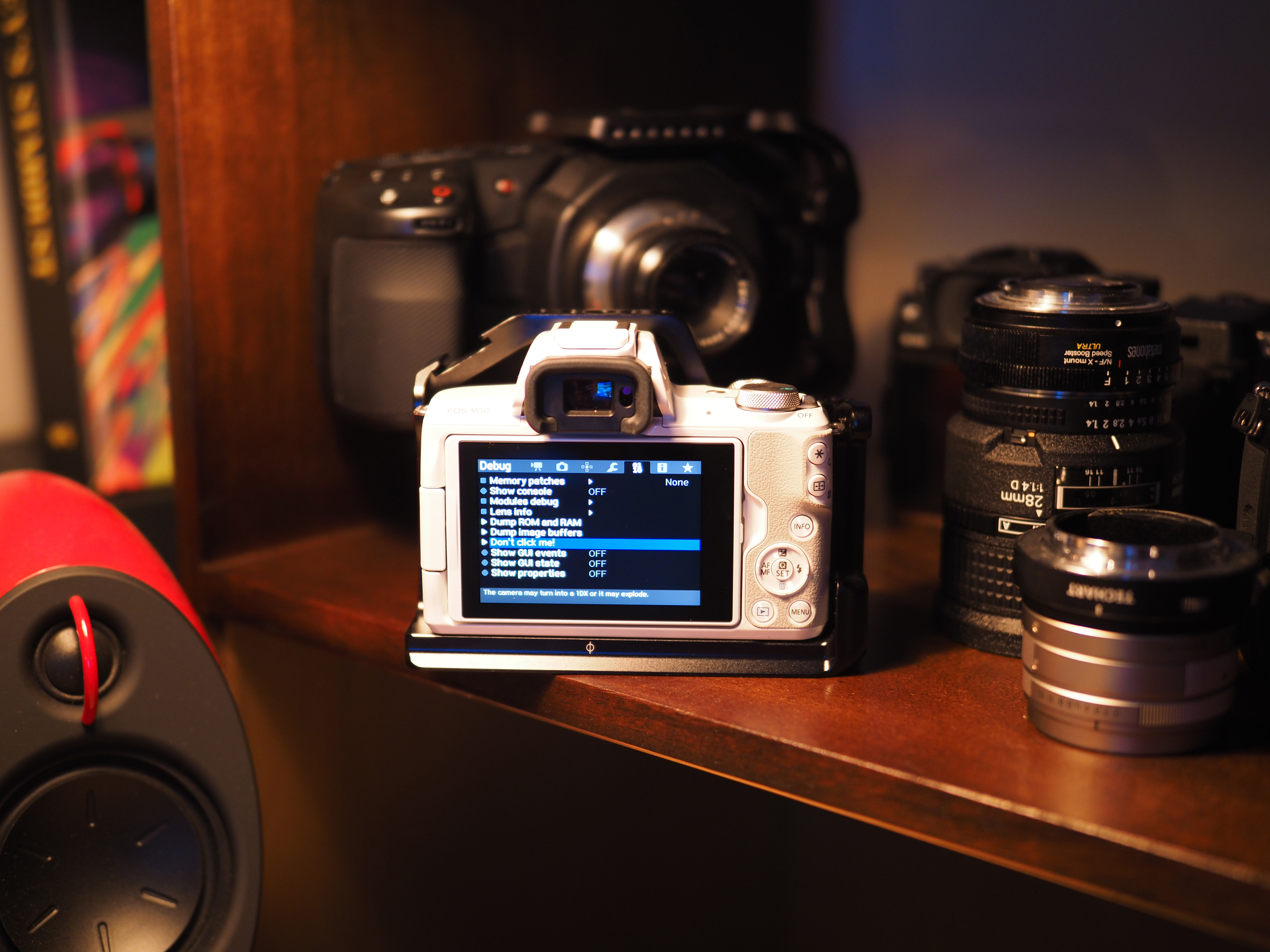 Canon M50 hacked, features 6K RAW and A I driven menus - EOSHD