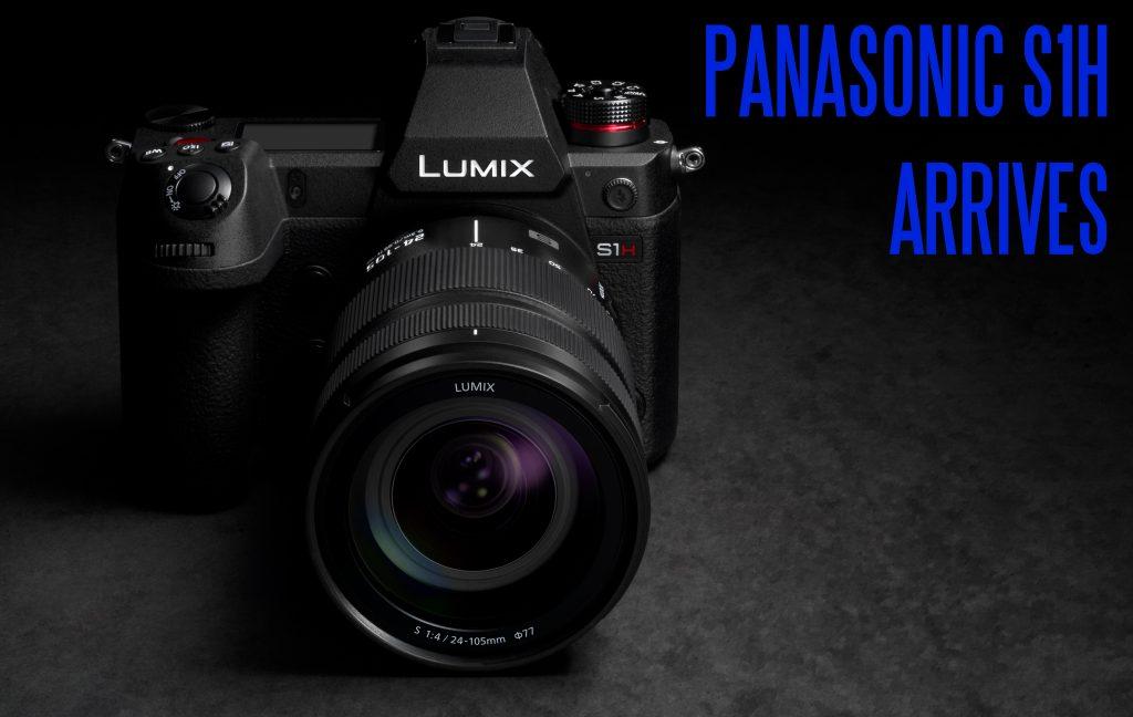 Panasonic S1h 6k Full Frame Mirrorless Cinema Camera Key