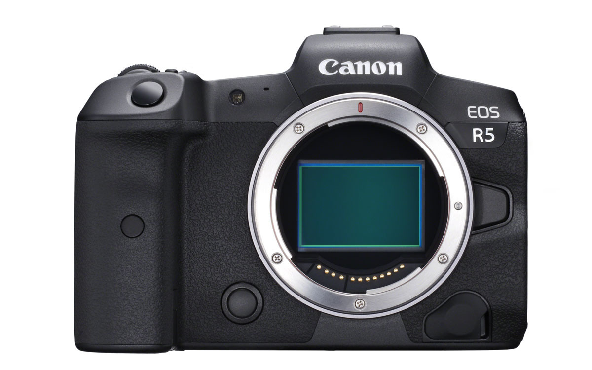 Canon EOS R5 full frame mirrorless camera with 8K video