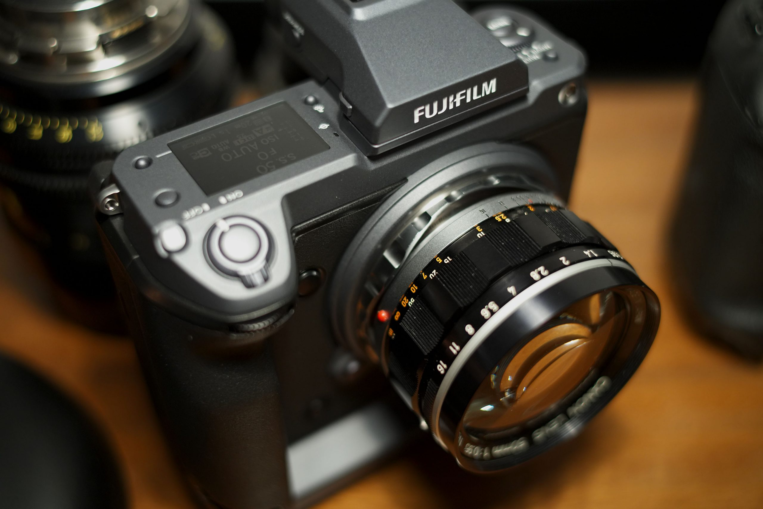 Fujifilm GFX 100 with Canon Dream Lens
