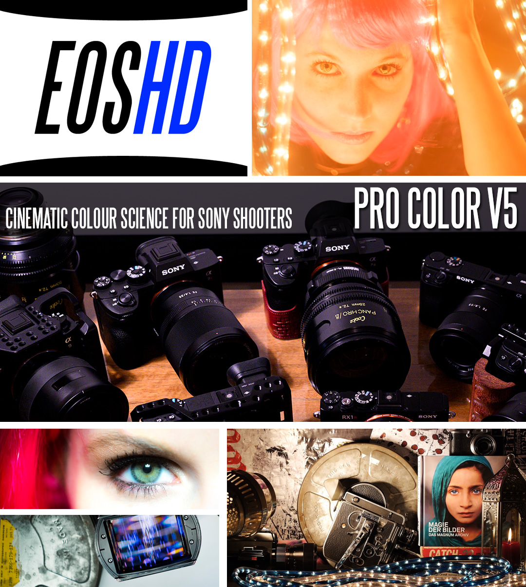 EOSHD Pro Color V5 for Sony