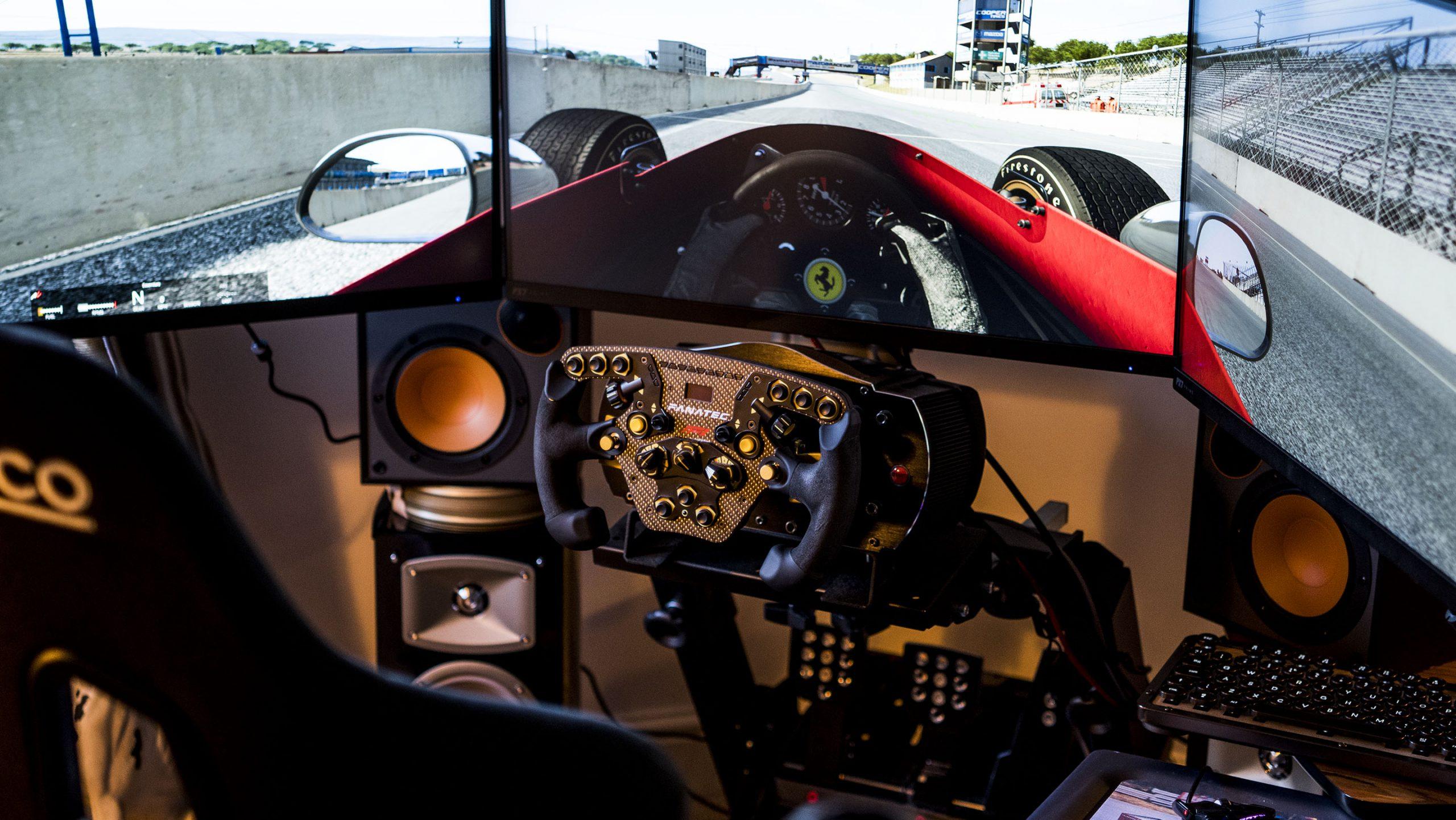 EOSHD F1 racing sim