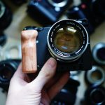 Sigma Fp, wooden grip
