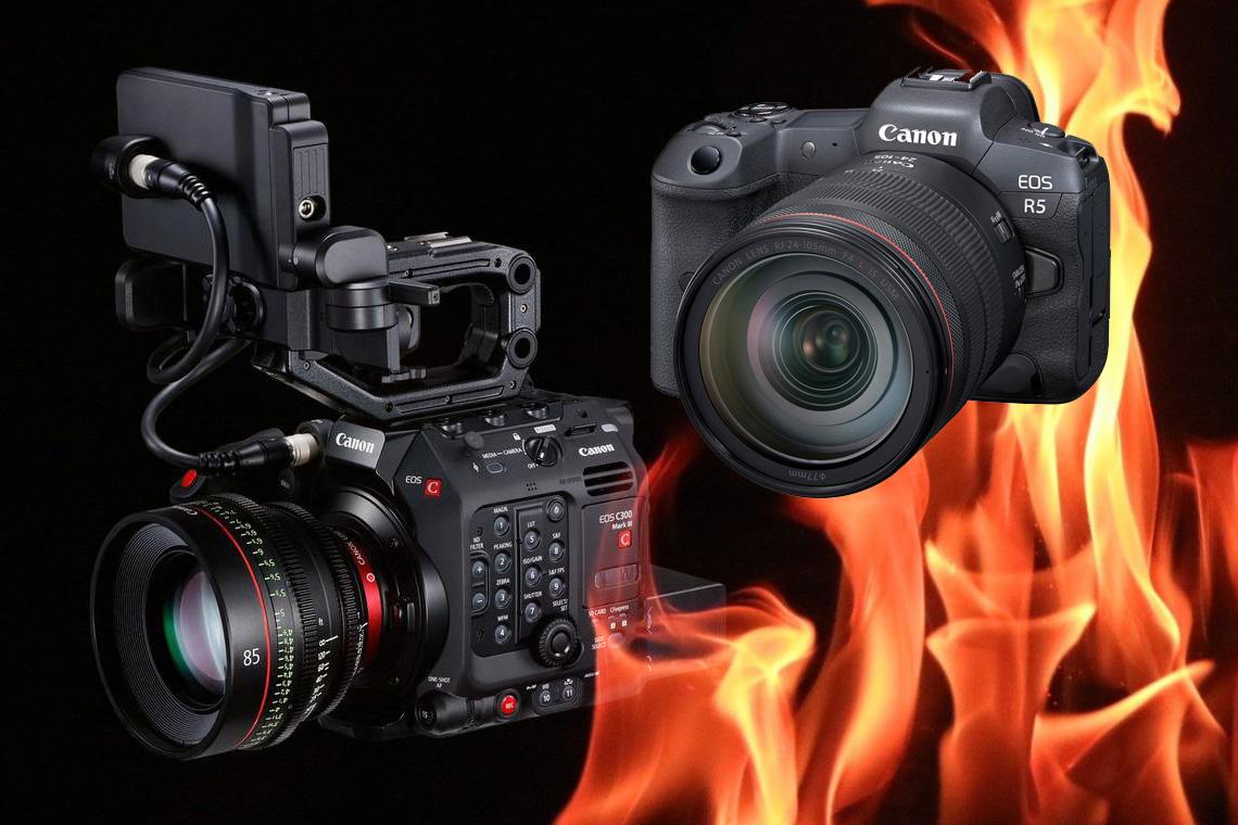 Canon C300 III / EOS R5
