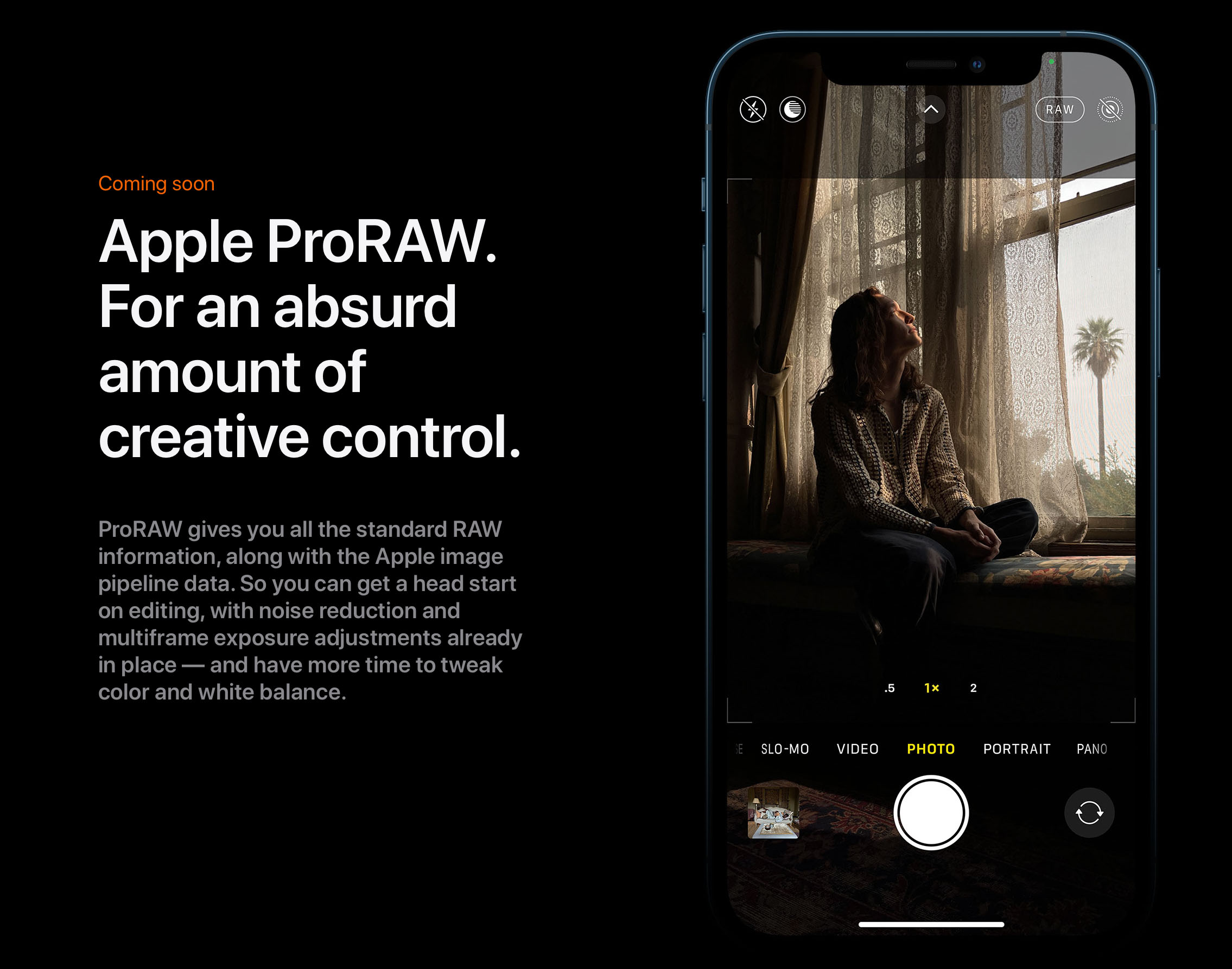 iPhone 12 Pro Max marches into enthusiast and pro photography territory  with new Apple ProRAW, LIDAR, Dolby Vision and large sensor - EOSHD.com -  Filmmaking Gear and Camera Reviews