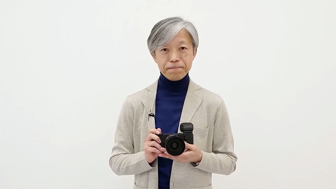 Kazuto Yamaki with the new Sigma Fp L
